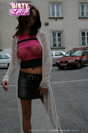 Lilly pink fishnet - 10