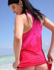 Adrienne beach fun - 07