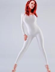 Bianca white jumpsuit - 02