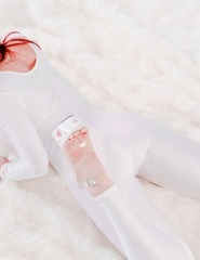Bianca white jumpsuit - 03