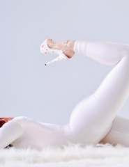Bianca white jumpsuit - 06