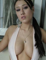 Maria in sexy white - 01