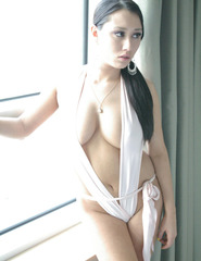 Maria in sexy white - 02
