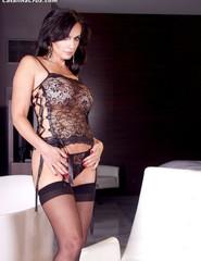 Catalina Cruz Black Lingerie - 03