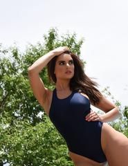 Charley In Navy Blue Swimwear - 05