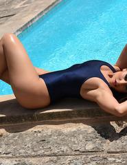Charley In Navy Blue Swimwear - 07