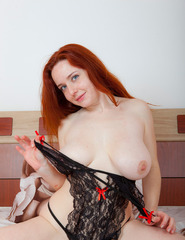 Curvy Redhead Sara Nikol - 07