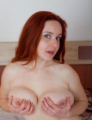 Curvy Redhead Sara Nikol - 10
