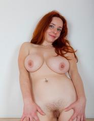 Curvy Redhead Sara Nikol - 13