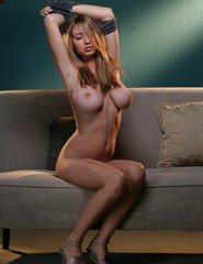 Shay Laren pops out of her top - 04