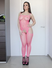 Alice In Pink Fishnet - 05