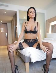 Ania Kinski Sexy Bra - 08