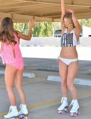 Babes On Roller Skate - 03
