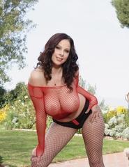 Gianna M. In Fishnet - 04