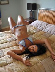Anita In Blue Bikini - 01