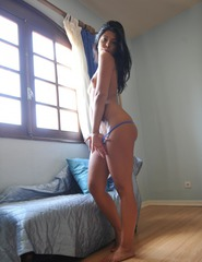 Anita In Blue Bikini - 07