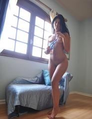 Anita In Blue Bikini - 08