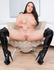 Angela White Leather Boots - 14