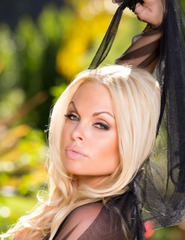 Jesse Jane Black Lingerie - 02