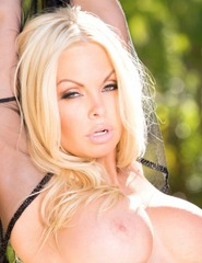 Jesse Jane Black Lingerie - 08