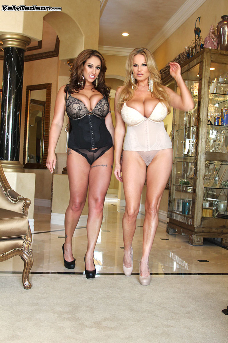 Eva Notty And Kelly Madison
