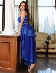 Ledona Blue Corset - 02
