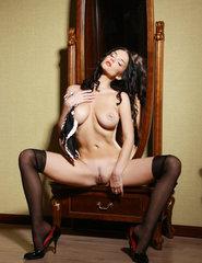 Jenya pierced nipples - 02