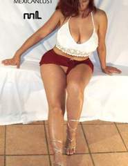 Maritza red skirt - 02
