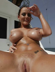 Sophie Dee Shows Her Wet Boobs - 09