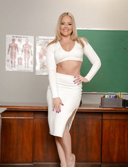Blonde Teacher Alexis T. - 01