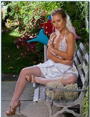Nicole Aniston In Stockings - 05