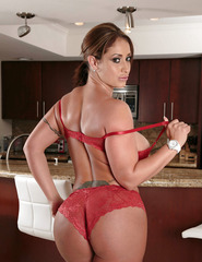 Eva Notty Red Lingerie - 05