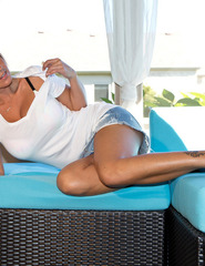 Nikki Sims In White - 07