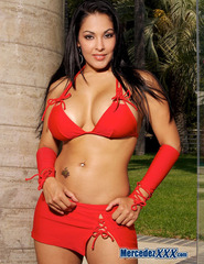 Mercedez red skirt - 00