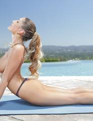 August In Yoga Pants - 09
