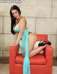 Long Black Haired Patty Michova - 02