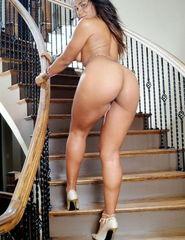 Tiara on the stairs - 09