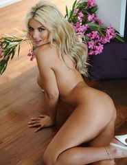 Tommie Jo Strips Naked By The Fire Place - 14