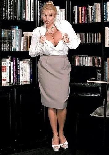 Lisa busty secretary