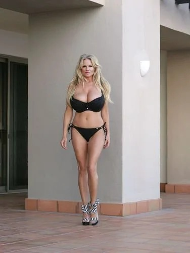 Kelly Madison In Black Bikini