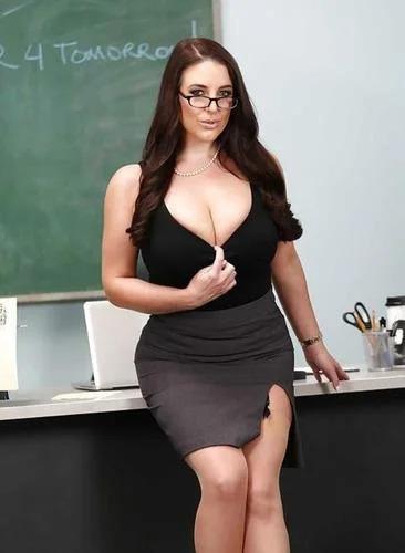 Angela White At Classroom