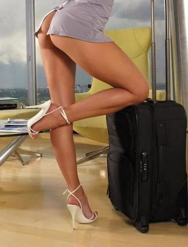 Lexa Sexy Stewardess