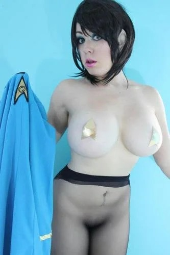 Kayla Kiss Spockette Cosplay