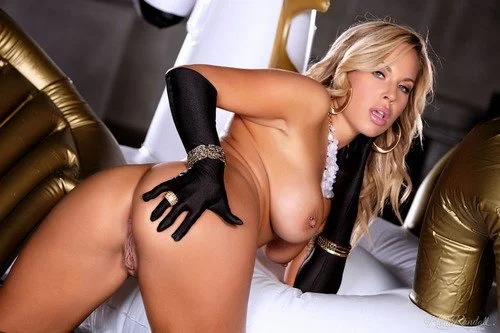 Olivia Austin In Gloves