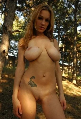 Natural young busty