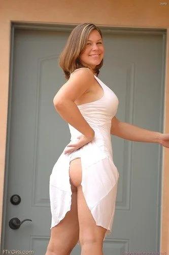 Liora white dress