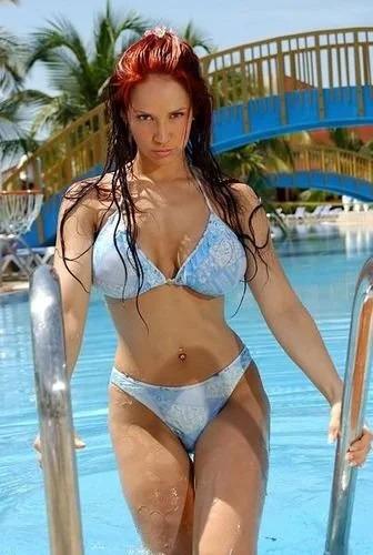 Bianca blue bikini