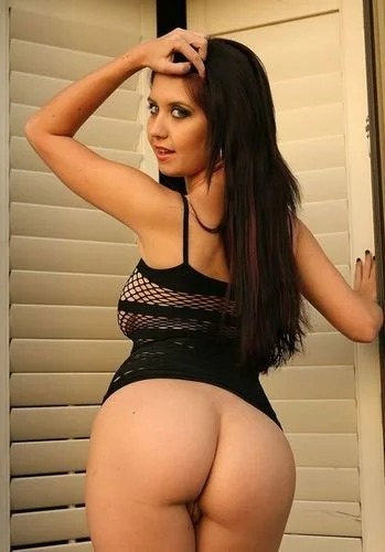 Chrissy black fishnet