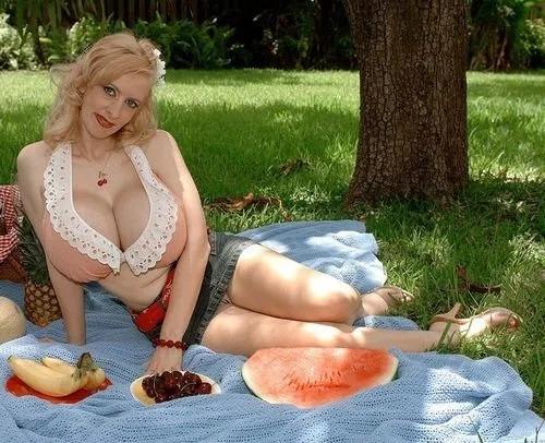 Alena Snow picnic