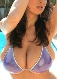 Jana Defi String Bikini Curves